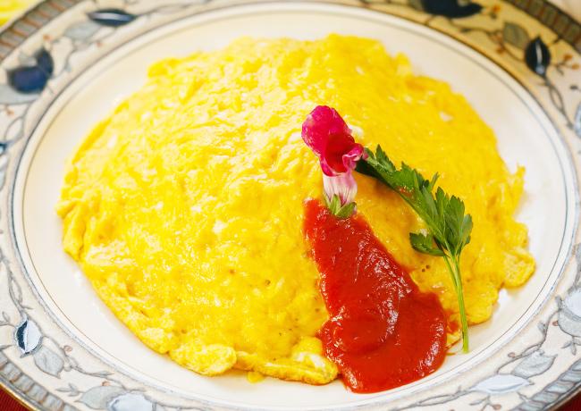 ふわふわ卵のオムライス
